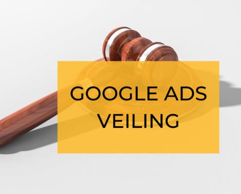 Adwords veiling