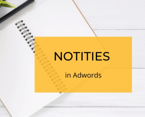 notities adwords