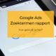 Google Ads zoektermen rapport